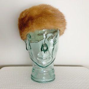 Mid Century Real Fur hat